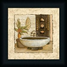 Feng Shui Bath II Asian Bathroom Decor Framed Art Print Wall Décor Picture