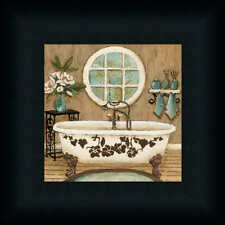 Country Inn Bath I Contemporary Bathroom Décor Framed Art Print Wall Décor