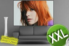Paramore Hayley Williams - Red Head// XXXL POSTER // Photo Hi Quality // ds01045