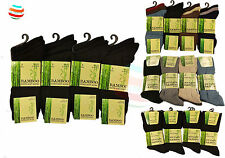 6-12 Pair lot Of Men's Bamboo Loose Top Socks, Super Soft Anti Bacterial UK 6-11