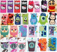 Super Cute Cartoon 3D Kitty Soft Silicone Case Cover For Samsung iPhone LG Moto