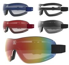 NEW- KROOPS IK-91 Skydive Freefall Parachuting Goggles | 100% UV400 Mirror Lens
