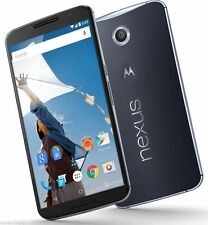 "Motorola Google Nexus 6 32GB XT1100 (FACTORY UNLOCKED) 6"" QHD  - Blue / White"