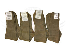 NEW BRITISH ARMY SURPLUS ISSUE KHAKI LIGHTWEIGHT THIN SOCKS,WOOL NYLON BLEND