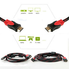 For Bluray 3D DVD PS3 HDTV XBOX LCD HD TV 1080P Premium HDMI Cable 5/10 FT