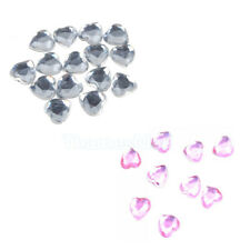 500Pcs 8mm Heart for Wedding Party Table Decoration New