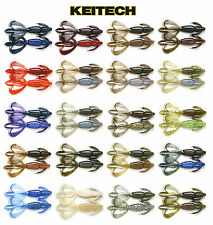 """KEITECH CRAZY FLAPPER 4.4"""" 6 PACK select colors"""