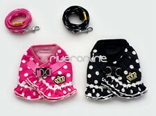 Lovely Dog Step In Soft Mesh Dog Puppy Vest/Harness Clothing Lead Pet Walk Leash