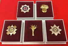 Coldstream Guards Grenadier Guards Scots Welsh Irish Guards Enamel Lapel Badge