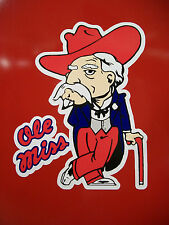 Ole Miss Colonel Reb Decal Sticker 6""