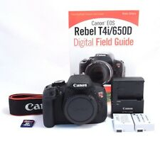 Canon EOS Rebel T4i / 650D 18.0 MP Camera Body. Exc. Cond. Only 1,122 Shots!