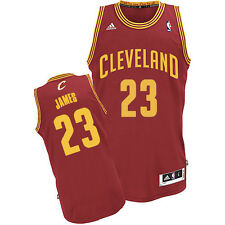 NBA Cleveland Cavaliers Youth Lebron James Swingman Wine Red Sewn Away Jersey