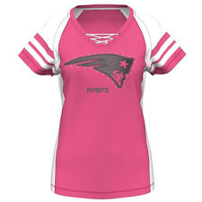 NFL Majestic New England Patriots Women's Pink Draft Me VII Jersey Shirt