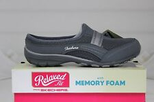 Skechers Relaxed Fit CONVERSATIONS 22550/CCL Charcoal Memory Foam Brand New