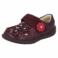 Girls Clarks First Shoes with Velcro Strap Litzy Ditz