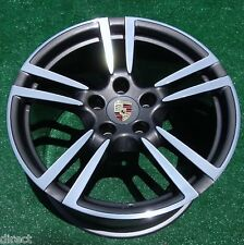 Perfect Genuine OEM Factory Porsche 997 Turbo 2 II REAR 19 inch I421 WHEEL 67414