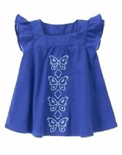 NWT Gymboree BUTTERFLY BATIK Sz 3T 4T 5T Embroidered Butterfly Dress