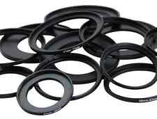 49-52-55-58-62-67-72-77-82mm Metal Step Up Rings Lens Filter Stepping Adapter