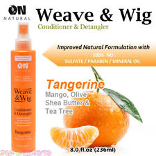 ON Natural Weave & Wig Leave-In Conditioner & Detangler 8oz [Tangerine Mango]