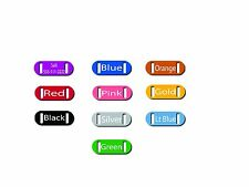Small Personalized Laser Engraved Slide Silent Pet Collar ID Tag Free Engraving