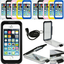 Waterproof Shockproof Dirt Snow Proof Diving Full Case Cover For iPhone 5 5S US