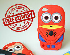 Despicable Me Spiderman Soft Case for Apple iPhone 4g/s/5g/s/c/6/iPod 4/5 NEW