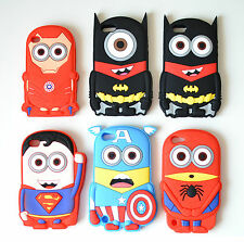 Despicable Me MARVEL AVANGERS Soft Case Apple iPhone 4 4s 5 5s 5c 6 iPod 4/5/6