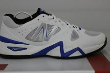 Men's New Balance Tennis 1296 MC1296WB White/Blue Size 9.5 New With Minor Defect