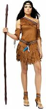 Pow Wow Sexy Native American Indian Princess Adult Costume