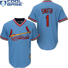 St Louis Cardinals Ozzie Smith Pull Over Blue Youth Jersey Size S M L XL