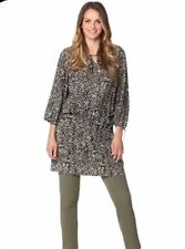 NEW LADIES WOMANS OVERSIZED LOOSE TUNIC TOP PERFECT FOR MATERNITY SIZE 18-28 UK
