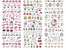 Hello Kitty 3D Nail Art Sticker Decal Decoration Manicure Water Transfer