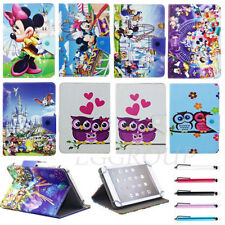 """Cartoon Leather Case Cover Stand For Samsung Galaxy Tab2 Tab3 Tab4 7.0 7"""" Tablet"""