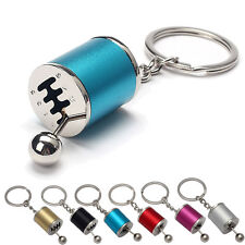 Creative Car Auto Change Gear Tuning Parts Key Chain Turbine Keychain Keyring