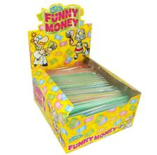 Edible Euro Funny Money Rice Paper Sheets Retro Sweets Party 3 5 10 24 Box Packs