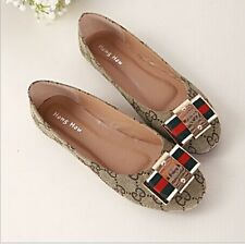 Fashion Slippers Comfy Casual Ballet Flat Heel Loafer Slip On Women's Shoes Size