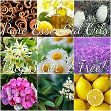 BUY 3 GET 2 FREE! 5 mL Essential Oils 100% Pure and Natural FREE SHIP US SELLER!