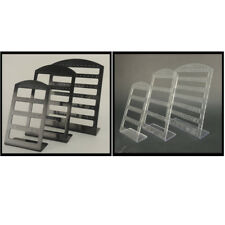 Set of 3 retail plastic jewelery display earring holder show case stand Colour C