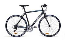 Studds 100 Flat Bar Road Bike - Black - Shimano Tourney
