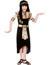 Child Girls Princess Cleopatra Egyptian Queen Fancy Dress Kids Costume Ages 5-13