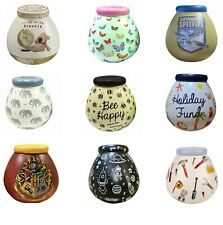 POT OF DREAMS CERAMIC MONEY BOX/ POT (Break To Open) VARIOUS DESIGNS New & Boxed