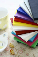 Blank Colour POSTCARDS 25pc DIY save the date place cards scrapbooking cardstock