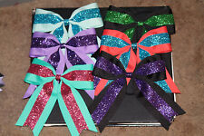 Custom Cheer Hair Bows, Lot of 3  Your Choice of Colors!