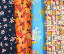 CHARACTER #4 Fabrics, Sold Individually, Not As a Group, By The Half Yard