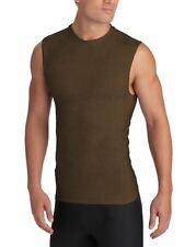 2XU Military Men's Compression Sleeveless Tops, Coyote