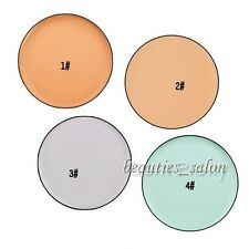 1Pc Concealer Pearl Cream Compact Press Foundation Powder Makeup Cosmetic
