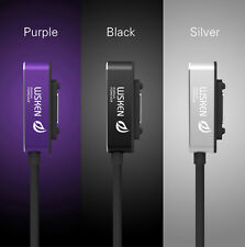 WSKEN Genuine LED Magnetic Charger cable For Sony Xperia Z3 Z2 Z1 Compact Tablet