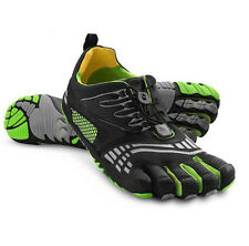 2015 New Outdoor Mens Sports Five 5 Finger Shoes Toes Barefoot trainers Green B1