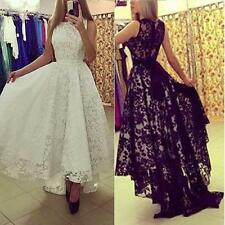 Sexy Women Evening Party Formal Cocktail Wedding Bridesmaid Lace Maxi Long Dress