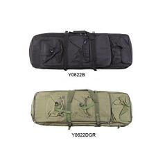Tactical Shotgun Rifle Carry Bag Gun Protection Case Backpack Black/Army green